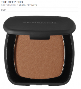 bare minerals bronzer deep end