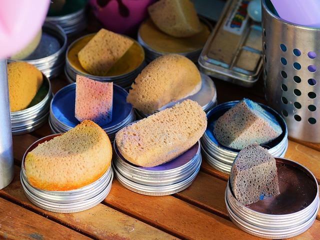 professional grade face sponges