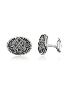 Designer Cufflinks Sterling Silver