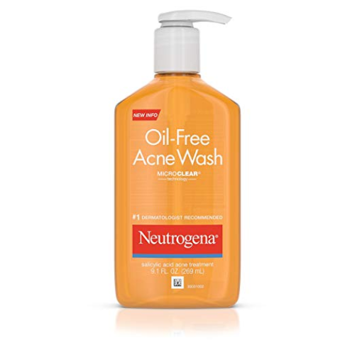 neutrogena oil free fash wash review