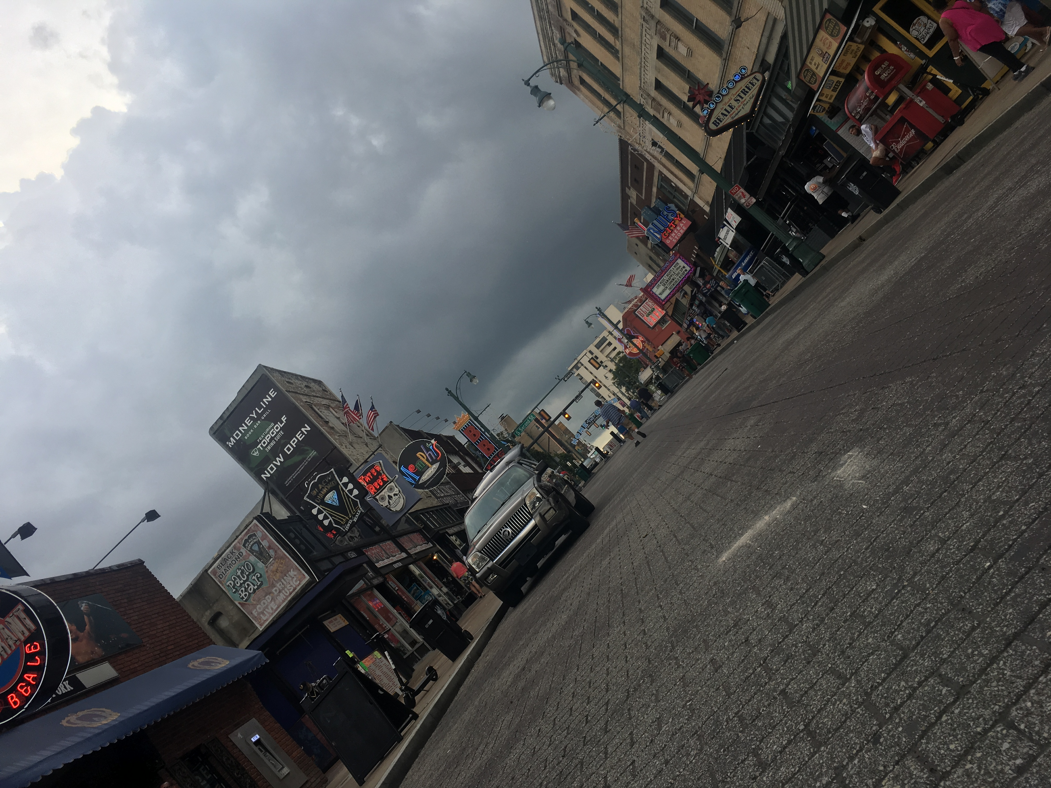rain is coming to beale street