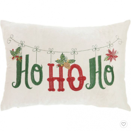 ho ho ho rectangle throw