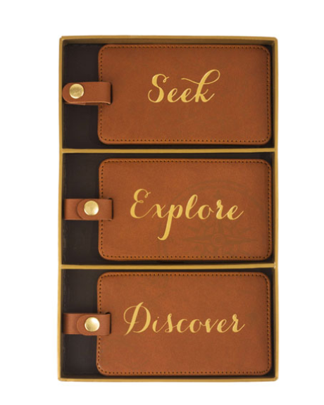 luxury luggage tags
