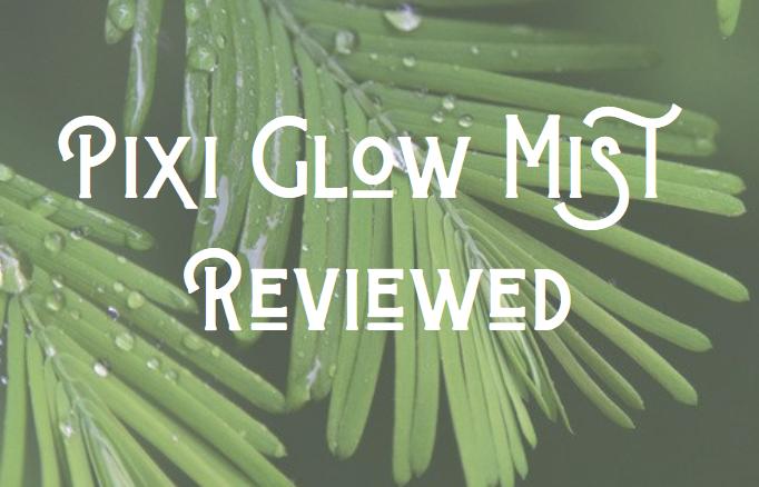 what is pixi glow mist
